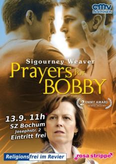 Prayers for Bobby - Flyer