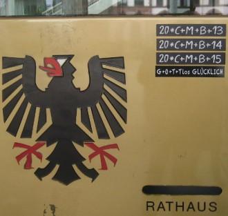 Rathaustür *gg*