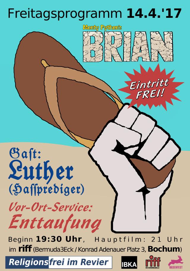 """Brian""-Plakat"